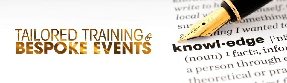 banner 3 - Tailored training & bespoke events