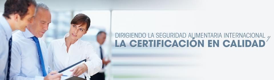 banner 6 - Dirigiendo la seguridad alimentaria internacional y la certificación en calidad
